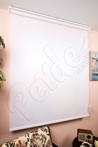 Hediyeli 100 x 140 cm Ekru Polyester Stor Perde