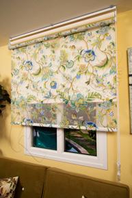 Çiftli Sistem Armoni Tül ve Ekru Mat Polyester Stor Perde