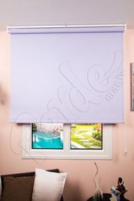 Fırsat Perdesi - 85 * 200 Çelik Mavi Mat Polyester Stor Perde