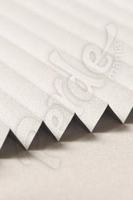 Karartma Beyaz Punto Desenli Cam Balkon Perdesi (Blackout)