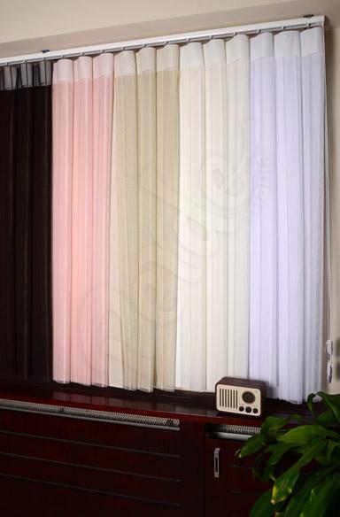 Karışık Renk Tül Dikey Perde