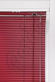 Kırmızı Mikro Jaluzi Perde - 16 mm