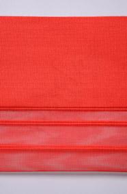 Kırmızı Tül Dikey Perde