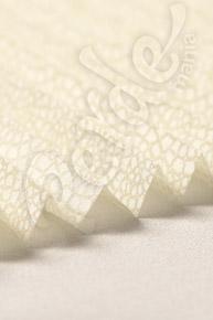 Mozaik Desenli Ekru Cam Balkon Perdesi