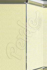 Mozaik Desenli Krem Cam Balkon Perdesi